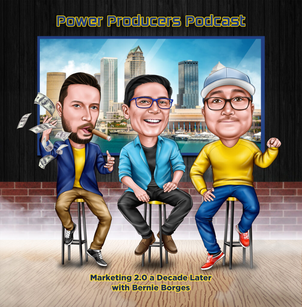 Power Producers Podcast with Bernie Borges